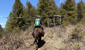 Horse riding, Bumthang