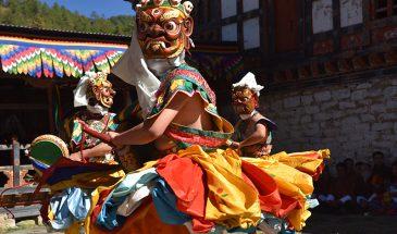 Jambay Lhakhang drup dance
