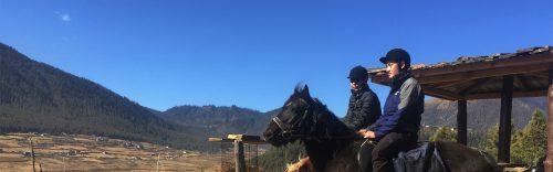 Horse riding, Gangtey